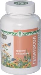 Гепатосол на сорбите,90г. Улучшает функциональное состояние печени и желчевыводящих путей.