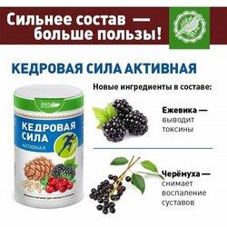Кедровая сила Активная, продукт белково-витаминный