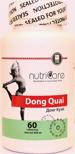 411  Донг Куэй,капсулы, 60 шт. Стимулирует выработку женских половых гормонов, уменьшает проявления патологического климакса.  NutriCare Int.