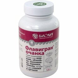 Флавигран-очанка, гранулы, 120 г. Источник витаминов и микроэлементов для профилактики ухудшения зрения.Биолит