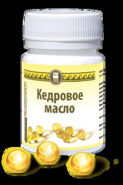 Арт.507 Масло кедровое, капсулы, 100 шт