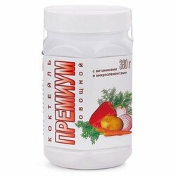 Коктейль ПРЕМИУМ «Овощной».Восполняет недостаток пищевых волокон, витаминов, белков. Вкусно и сытно.  НИИ ЛОП и НТ